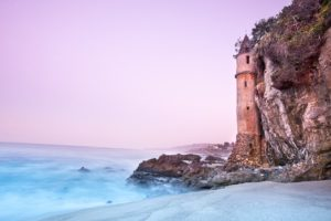 Iconic Lighthouse at Laguna Beach