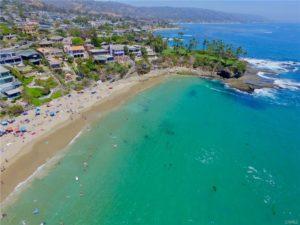 Laguna Beach top ten beach Crescent Bay Beach