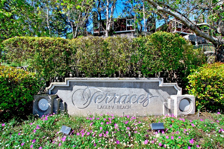 Terraces community in Laguna Beach is within the school district area
