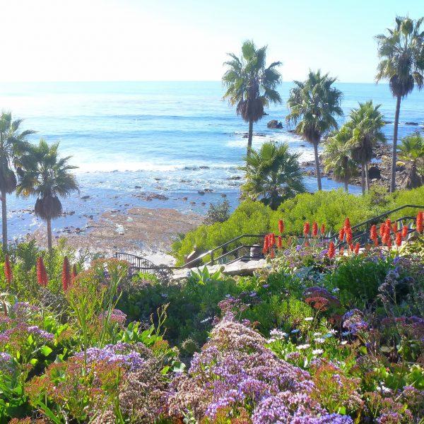 Gated Ocean Front community of Irvine Cove in Laguna Beach, California