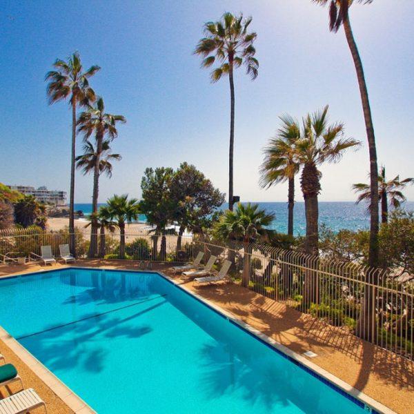 Ocean Front Condominium for sale in Laguna Beach at Laguna Royale