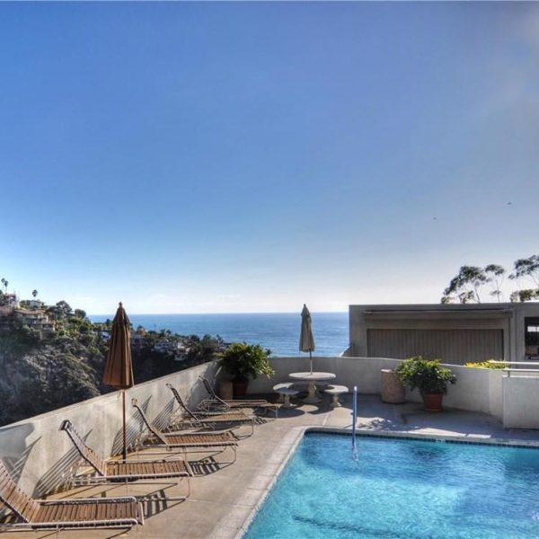 Ocean Vista Community Pool in Laguna Beach California