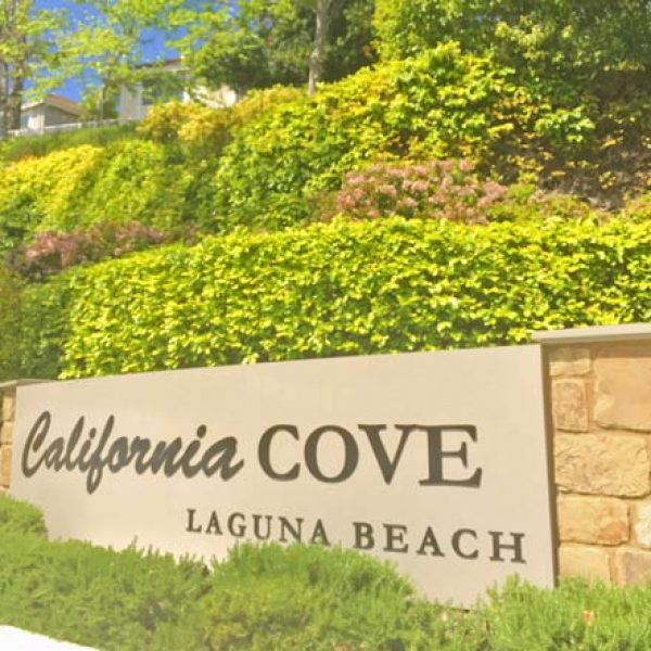 California Cove area of Laguna Beach is within the school district area